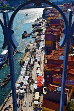 Porto: City Guide of Must See Spot Porto Portugal, Spain And Portugal, Portugal Travel, Most Beautiful Cities, Beautiful Buildings, Beautiful Beaches, Porto City, Rio, Palace Garden