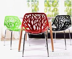 $49 NEST Chair in Black White Red Color