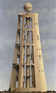 Minoru Nomata Minoru Nomata was born in 1955 in Tokyo, Japan. He graduated from the Design Department. Architecture Drawings, Futuristic Architecture, Historical Architecture, Amazing Architecture, Architecture Design, Claude Nicolas Ledoux, Tower Of Babel, Design Department, Postmodernism