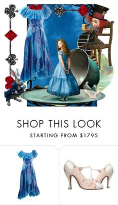 """""""Alice"""" by chateaubeau ❤ liked on Polyvore featuring Yves Saint Laurent, contestentry and DisneyAlice"""