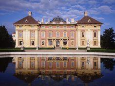 Moravia czech republic | Slavkov Chateau near Brno South Moravia Czech Republic.  Pen pal sent postcard from here today.