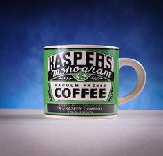 Westwood Yesteryear Kasper's Monogram Coffee