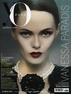 VANESSA PARADIS SPAIN YO DONA MAY 2012