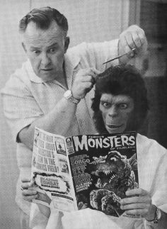 Planet of the Apes Behind-the-scenes