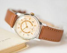 Unisex wristwatch ZIM tomboy watch classic mechancial by SovietEra