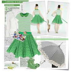 """""""Green line"""" by ellie366 on Polyvore"""