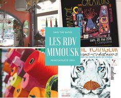 www.mimousk.fr / Les rendez-vous de l'été ! Sinon retrouvez moi sur le blog, Facebook, et Instagram (mimousk_diy) à bientôt ! #mimousk #creatrice #couture #deco #diy #tuto