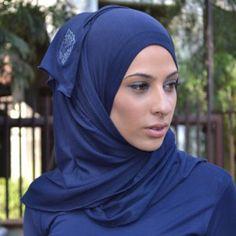 AJMAAN Plain Signature Jersey Hijabs - Pin Free - Kaamilah Online