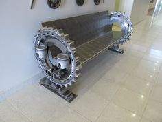 Will you get some uncanny seating like this welded for your home? :) It's awesomely cool!