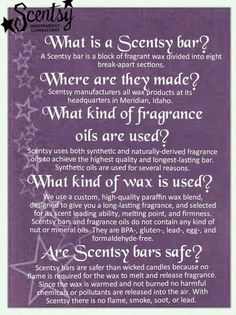 What is a Scentsy bar?  Email me at brandireed2003@hotmail.com for more information Visit my website at http://breed.scentsy.us and you can follow me on Facebook at www.facebook.com/reed.brandi16