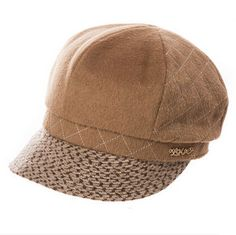 Fashion plaid newsboy cap for winter womens wool beret hat