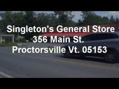 Singleton's General Store: If they don't have it, you probably don't need it. Offer foods made on premises as well as clothing, liquor store etc.