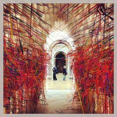 Sensing Spaces: Enchanted Architecture at Royal Academy. Lots of praise for this but only on until 6th April