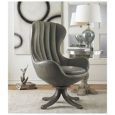 Uttermost Linford Swivel Chair 23121 10% off coupon