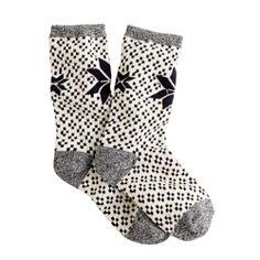 Fair Isle trouser socks YES PLEASE! #repinclarks