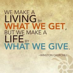 How do you give?