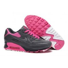 http://www.nkmaxshoes.co.uk/ D8ms4 Womens Nike UK - Air Max 90 Essential Dark Grey Pink Foil