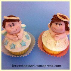 #Angels #cupcakes #babies #babyshower #babyannouncement