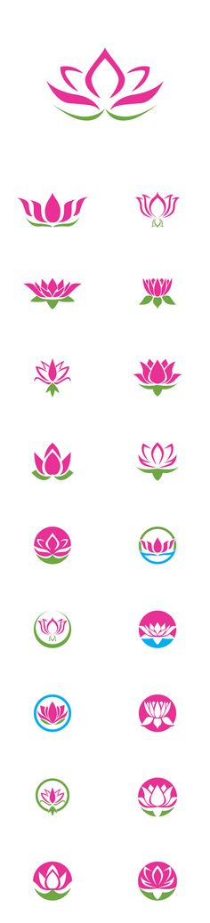 Vector Lotus Logos