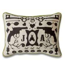 Jonathan Adler throw pillow
