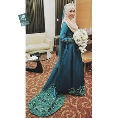like that wedding gown but not the hijabscarf...