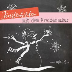 de: Window pictures with the chalk marker - www.de: Window pictures with the chalk marker - Chalkboard Designs, Chalkboard Art, Christmas Advent Wreath, Christmas Diy, Diy Birthday Decorations, Christmas Decorations, Naughty Elf, Chalk Markers, Christmas Templates