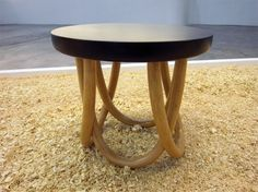 Klop Side Table by Sadhiya Hanindita (Indonesia) at International Furniture Fair Singapore 2013