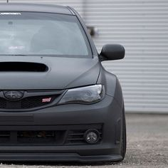 Black on black Subaru STI. #GotStance? #Rvinyl wants you to share the best of…
