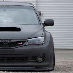 Black on black Subaru STI. #GotStance? #Rvinyl wants you to share the best of…