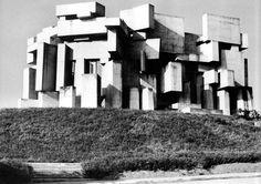 Church of the Holy Trinity,   St. Georgenberg, Austria, 1965-76  Fritz Wotruba #brutgroup photo via #isc20c
