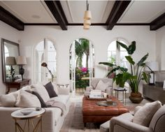 Spanish Interior Design   Living Room   Orange County
