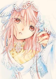 "Kobato Hanato from ""Kobato"" series by manga artist group CLAMP. I Love Anime, All Anime, Anime Art, Manga Anime, Beautiful Anime Girl, Manga Girl, Anime Girls, Kawaii Anime, Cardcaptor Sakura"