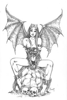 Succubus by MitchFoust on DeviantArt