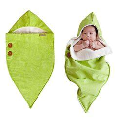 Organic Noonie Baby Swaddle Blanket