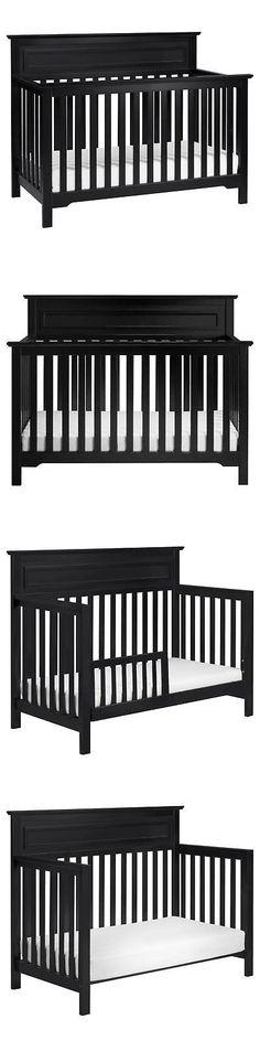 Cribs 2985: Davinci Autumn 4-In-1 Convertible Crib - Ebony -> BUY IT NOW ONLY: $194.99 on eBay!