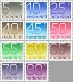 Oude postzegels