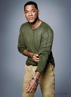 Will Smith, profiled in Esquire magazine, wearing Polo Ralph Lauren