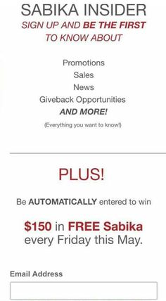 *** Visit my SABIKA website for your chance to WIN **$150 of SABIKA JEWELRY ** every Friday in May!! www.sabika-jewelry.com/ToniSchilb