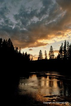 Late August Sunrise in the Valles Caldera National Preserve.