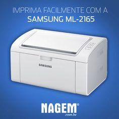 Imprima documentos com mais rapidez! As impressoras Monocromáticas da Samsung vêm com botão Print Screen. #Samsung #Impressora