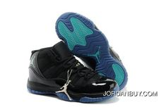 http://www.jordanbuy.com/buy-nike-air-jordan-11-kids-black-blue-cyan-online.html BUY NIKE AIR JORDAN 11 KIDS BLACK BLUE CYAN ONLINE Only $85.00 , Free Shipping!