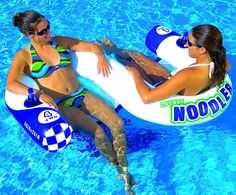 Noodler 2 Pool Float. This would be great for floating down the river!!
