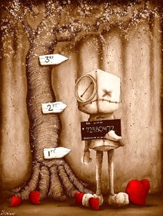 Artist: Fabio Napoleoni    Possession of Hope With Intent to Distribut