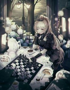 /r/Moescape is a place to post all of your favorite artworks and screen caps of cute Anime characters in their environment. Gothic Anime Girl, Dark Anime Girl, Manga Anime Girl, Pretty Anime Girl, Cool Anime Girl, Anime Girl Drawings, Beautiful Anime Girl, Anime Artwork, Anime Girls