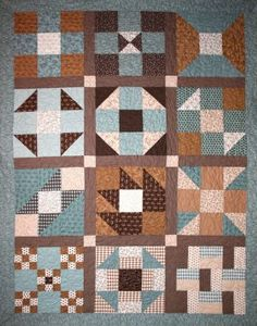 2011 Purely Nine BOM Quilt by BOMquilts.com