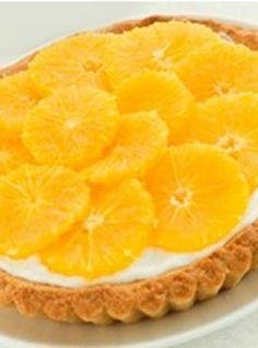 Portakallı Tart Tarifi www.afiyetle.com