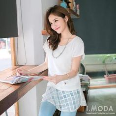 Buy 'OrangeBear – Mock Two-Piece Top' with Free Shipping at YesStyle.com.au. Browse and shop for thousands of Asian fashion items from Taiwan and more!