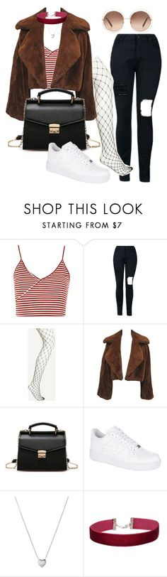 """""""Untitled #33"""" by michelleshd on Polyvore featuring Topshop, NIKE, Links of London, Miss Selfridge and Chloé"""