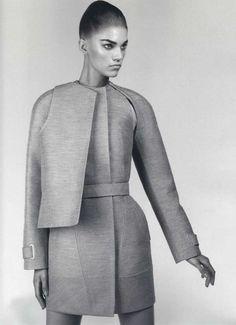 Geometric Robe Coat