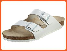Birkenstock Men´s Arizona White Leather Sandals 44 EU (M11 US) R 051131 - Sneakers for women (*Amazon Partner-Link)